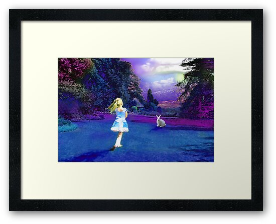 Alice in Wonderland by Mike Paget