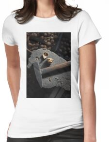 walnut and hammer Womens Fitted T-Shirt