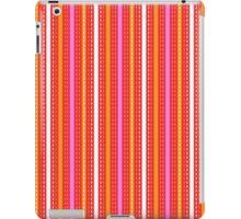 Tilkkutakki stripe 2 (Red) iPad Case/Skin