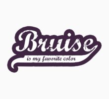 Bruise is my favorite color Decal by five5six