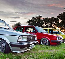 Classic VW Lineup by Gareth Spiller