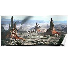Planetside 2 - Scenery - Indar Oceanbed Poster