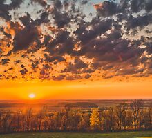 Amazing Sunset by Nicolas Goulet