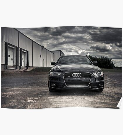 2012 Audi A4 S-Line Poster