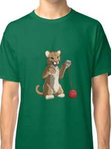 Playful cougar Classic T-Shirt