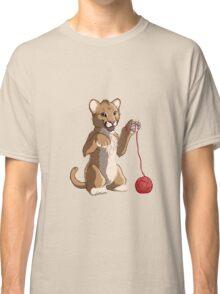 Playful cougar Classic T-Shirt