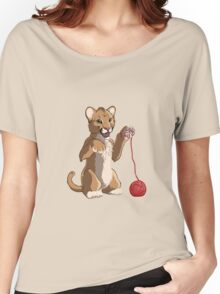 Playful cougar Women's Relaxed Fit T-Shirt