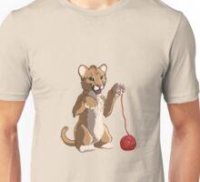 Playful cougar Unisex T-Shirt