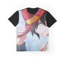 Fairy Tail-Gray Fullbuster Full Graphic Tee Graphic T-Shirt