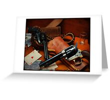 .45 Colt  Greeting Card