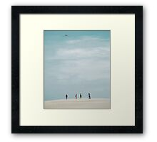 A Fine Day Framed Print