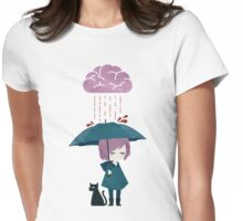 Brainstorming Womens Fitted T-Shirt