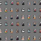 Daleks in Disguise Pattern by murphypop