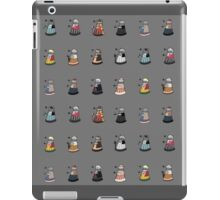 Daleks in Disguise Pattern iPad Case/Skin