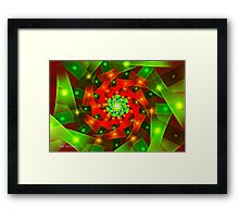 Ribbon Weave Framed Print