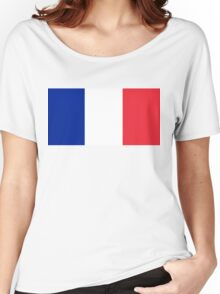 Flag of France - High quality authentic version Women's Relaxed Fit T-Shirt