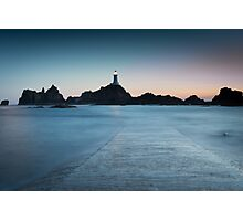 Corbiere lighthouse Jersey Photographic Print