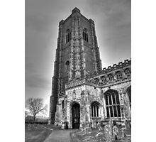 Church in B&W Photographic Print