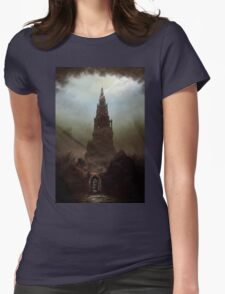 Frankenstein's Castle Womens Fitted T-Shirt