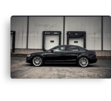 2012 Audi A4 S-Line Canvas Print