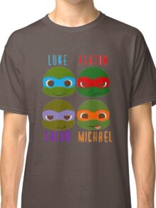 5 seconds of summer ninja turtles Classic T-Shirt