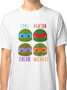 5 seconds of summer ninja turtles Classic T-Shirt