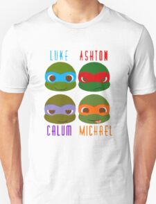 5 seconds of summer ninja turtles Unisex T-Shirt