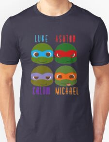 5 seconds of summer ninja turtles T-Shirt