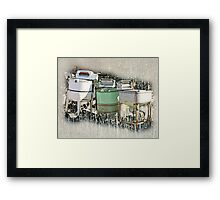 Remember Mama's Washer? Framed Print