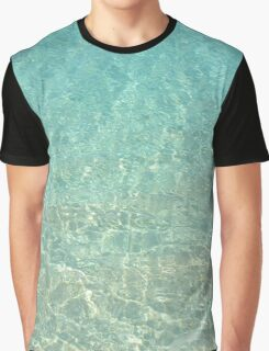 Colors of the Sea Water - Clear Turquoise Graphic T-Shirt