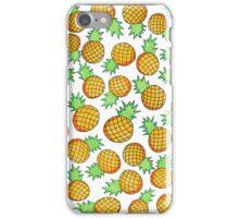 It's Raining Pineapples iPhone Case/Skin