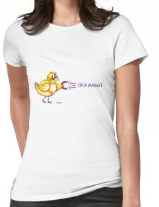 Chick Magnet Shirt (Drawn) Womens Fitted T-Shirt