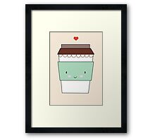 Bring Coffee Framed Print
