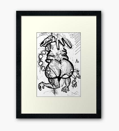 047 Framed Print