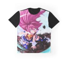 Fairy Tail-Wendy Marvel-Full Graphic Shirt Graphic T-Shirt
