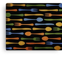 Kitchen Traffic 2 Canvas Print