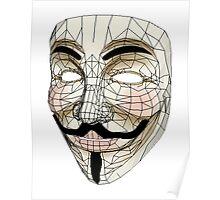 V for Vendetta Mask Poster