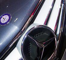 Mercedes-Benz E 250 Turbo Coupé Front Logo [ Print & iPad / iPod / iPhone Case ] by Mauricio Santana