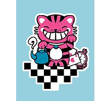 Maneki Cheshire Photographic Print