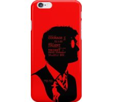 Harry Potter Silhouette Quotes iPhone Case/Skin