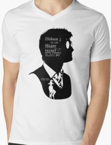 Harry Potter Silhouette Quotes Mens V-Neck T-Shirt