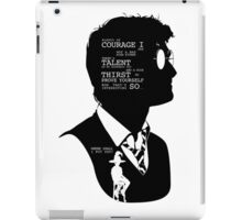 Harry Potter Silhouette Quotes iPad Case/Skin