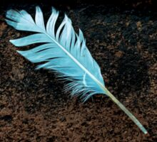 The feather Sticker