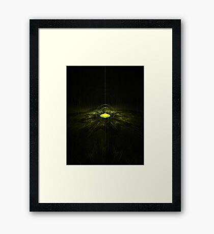 Secret base Framed Print