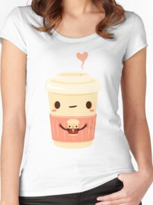 Coffee Coffee Women's Fitted Scoop T-Shirt
