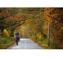 Autumn Hack  Photographic Print