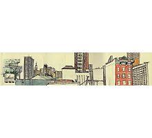 City Panoramic Photographic Print