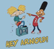 Hey Arnold : Arnold and Jared by zachattacker