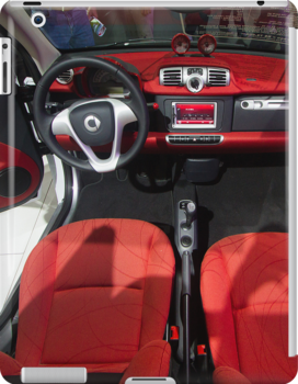 Smart ForTwo Turbo Cabrio Tritop Inside [ Print & iPad / iPod / iPhone Case ] by Mauricio Santana