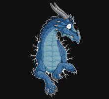 STUCK - Blue Dragon by tanidareal
